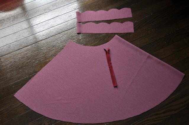 Как сшить шёлковую юбку-солнце на резинке Мастер-классы 85