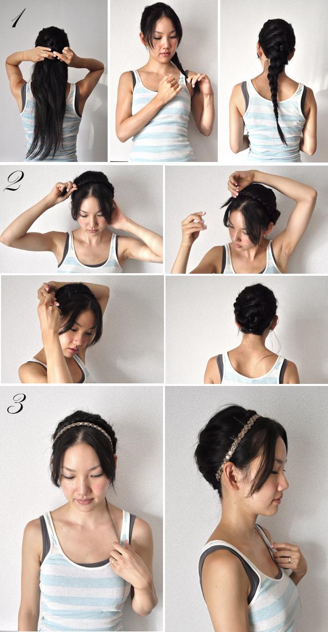 Comment se coiffer sur cheveux mi long