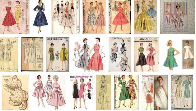 Best Vintage Sewing Patterns for Free PDF Download | Vivat Veritas Blog