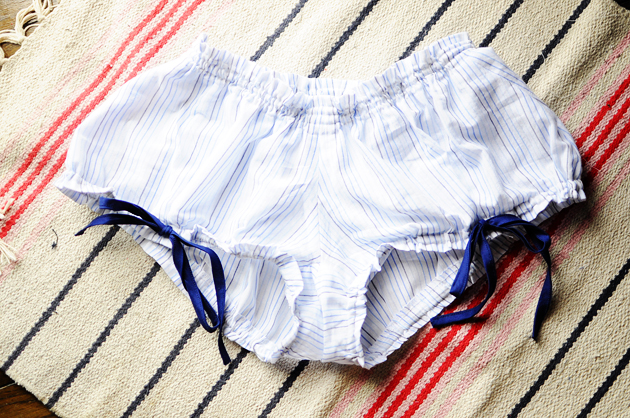 Stripe Colette Pattern Bloomers
