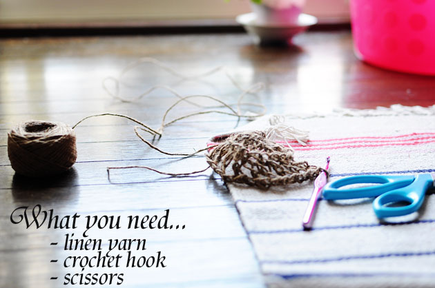 linen yarn for plant holder copy