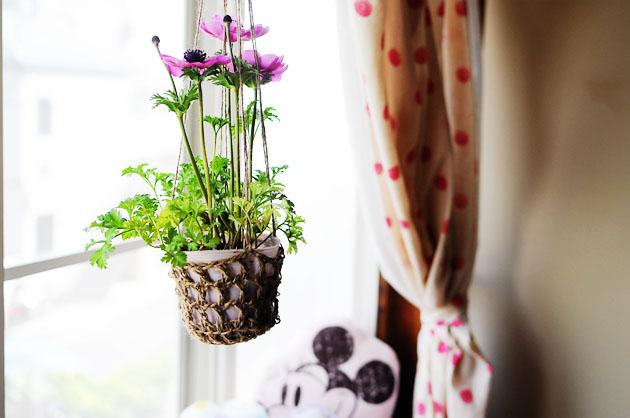 linen yarn plant holder after3