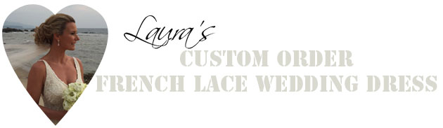 laura wedding dress banner