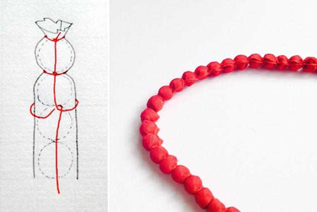 rina diy necklace