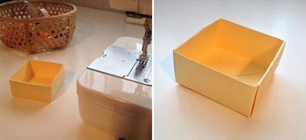paper box organization