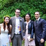 vivat veirtas wedding silk painted dress and vest1