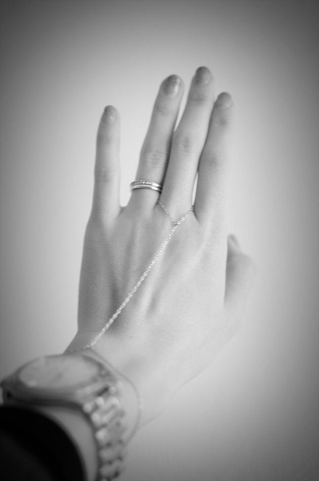 dainty gold chain bracelet by vivat veritas3