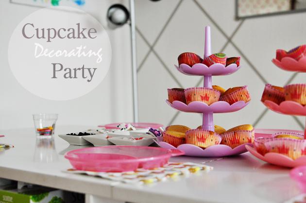 cupcake decorating party vivat veritas - Cupcake Decorating Party