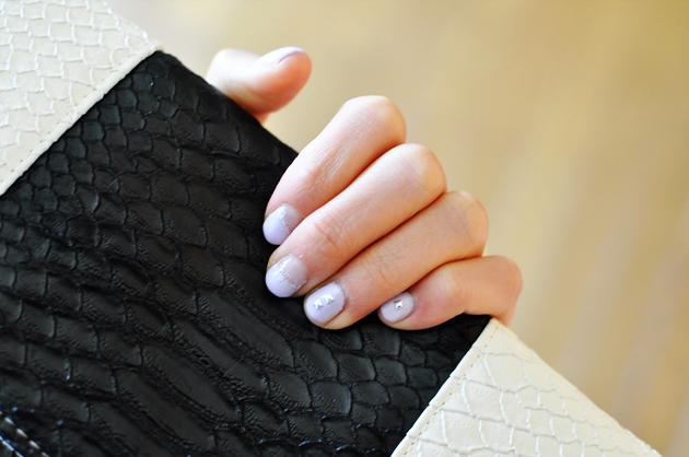 black and white clutch details by vivat veritas blog