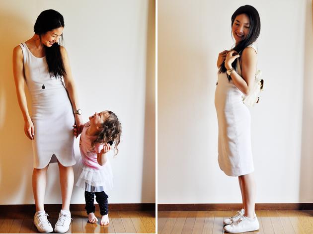white tank dress with tulip hem vivat veritas blog3