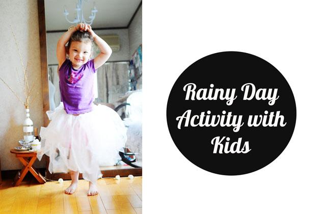 rainy day activity with kids