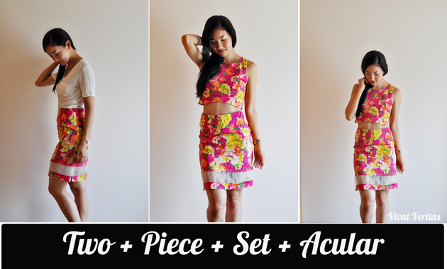 two piece set acular 630