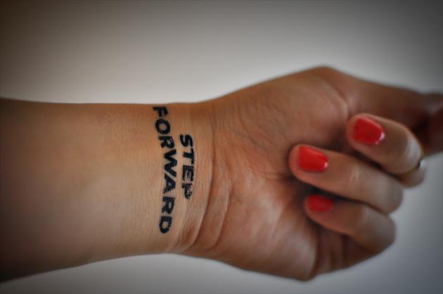 Temporary Tatto by Vivat Veritas
