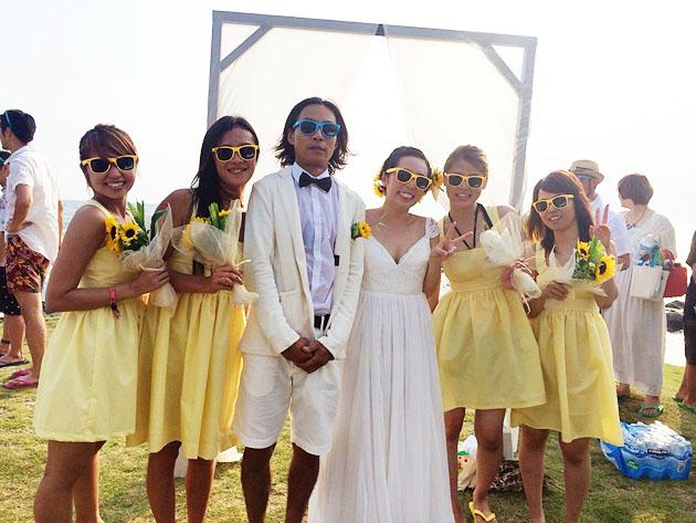 Vivat Veritas Beach Wedding1