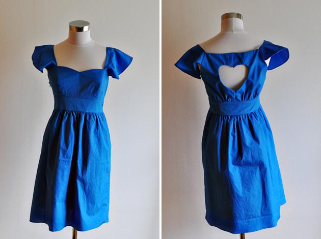 Eclecitc Blue Bridesmaid Dress via Vivat Veritas Blog