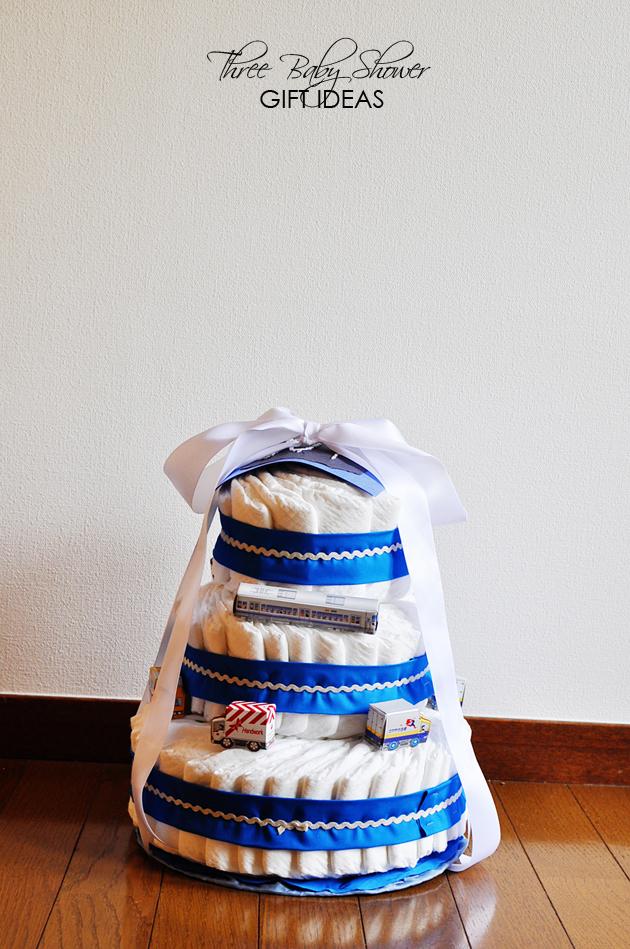 three baby shower gift ideas