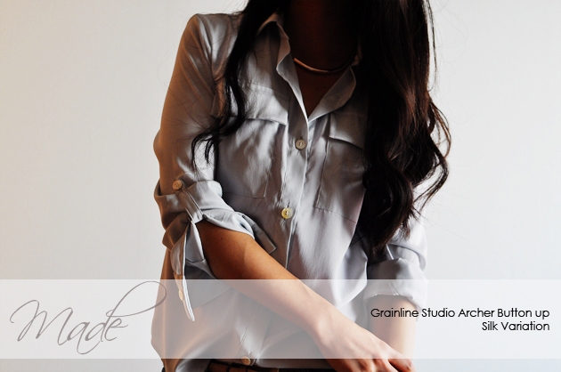 archer button up shirt silk version7 cover photo