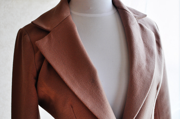 butterick 4610 modification camel wool coat by vivat veritas3