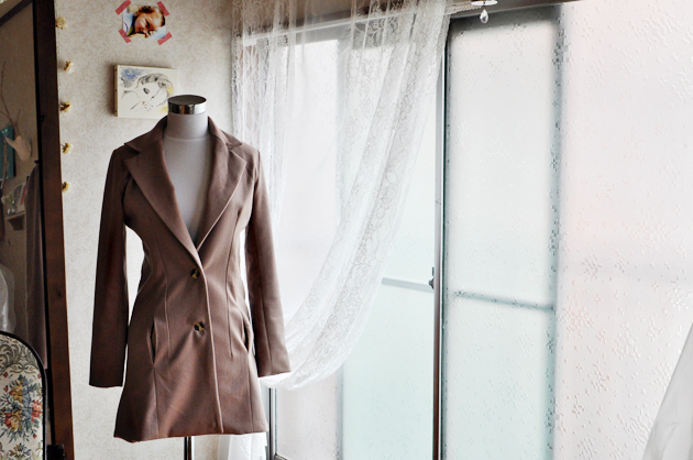 butterick 4610 modification camel wool coat by vivat veritas4