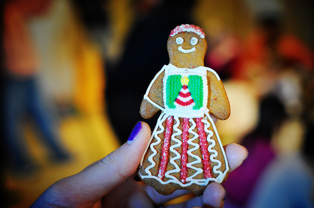 christmas ginger bread cookie