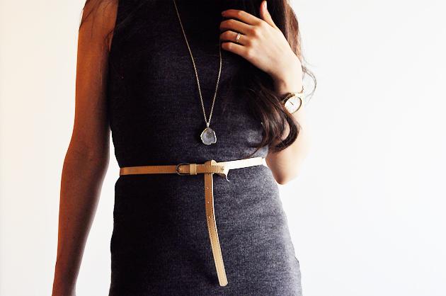 handmade gray bodycon dress by vivat veritas1