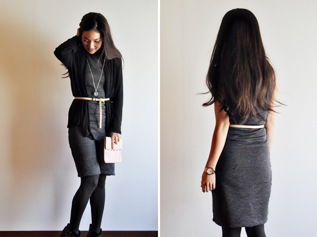 handmade gray bodycon dress by vivat veritas3