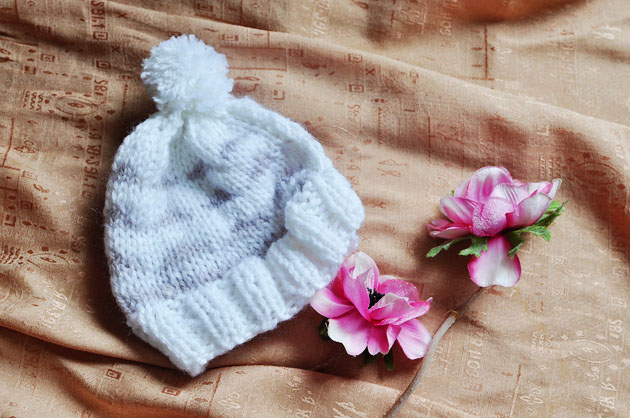 baby knit hat by vivat veritas