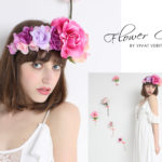Flower crown by vivat veritas bridal