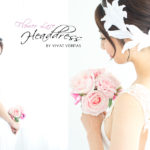 flower lace headdress by vivat veritas