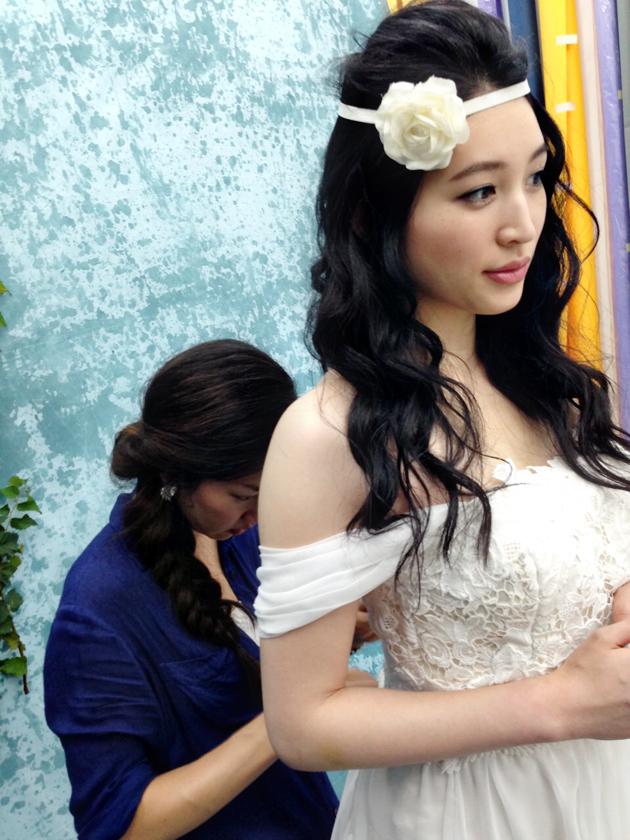 Viva Veritas Bridal Shoot Behind the Scenes1