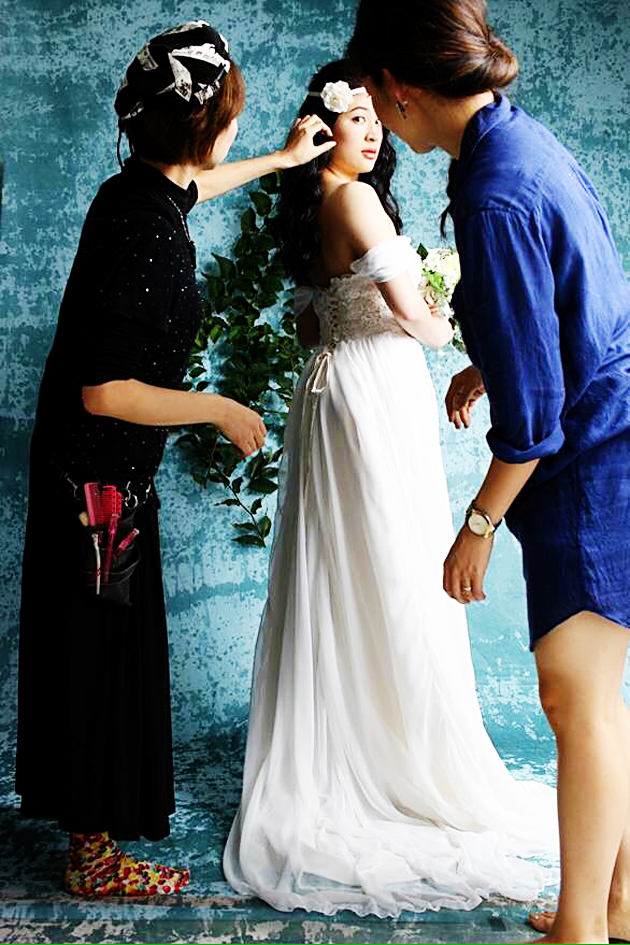 Viva Veritas Bridal Shoot Behind the Scenes6