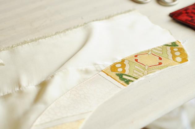 In process of Kimono Dress1