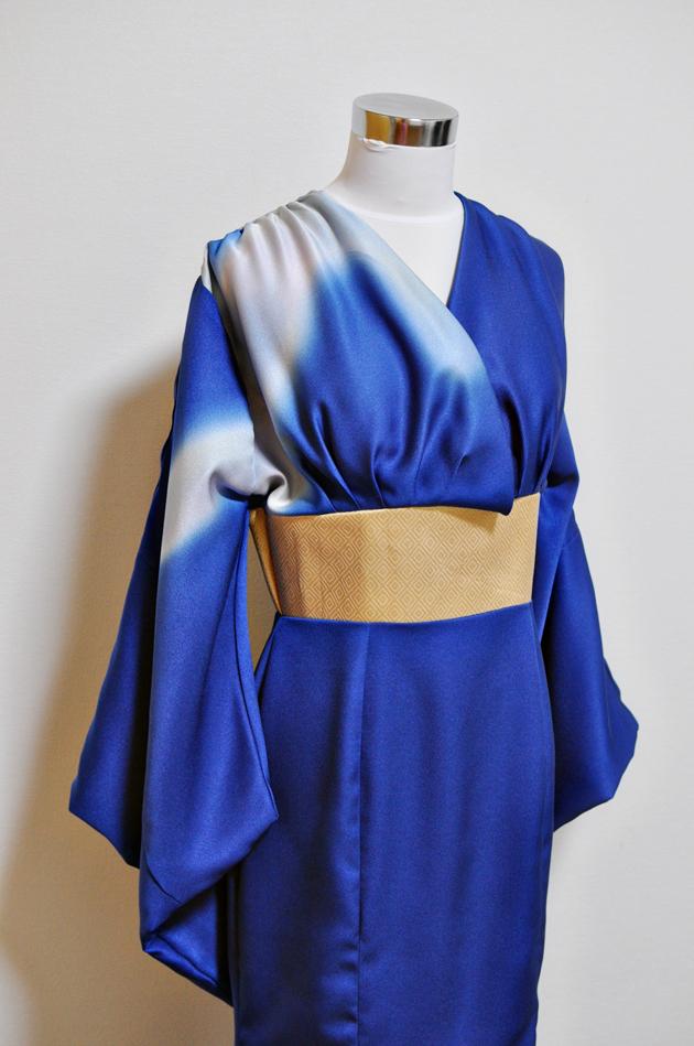Upcycled Kimono Dress via Vivat Veritas Blog