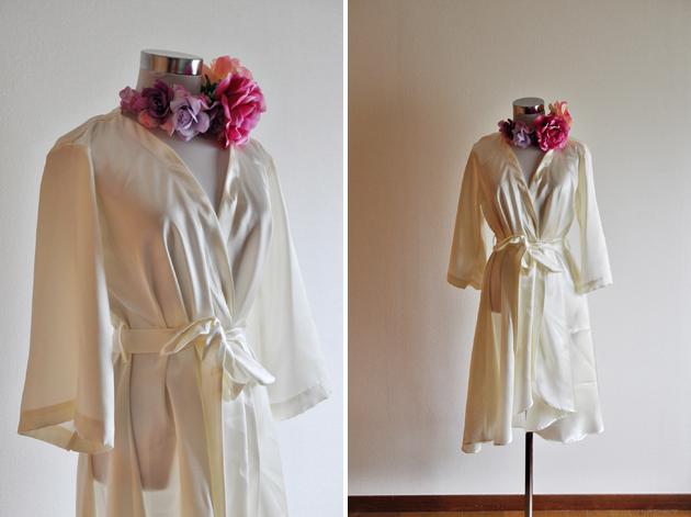 Bridal Satin Robe