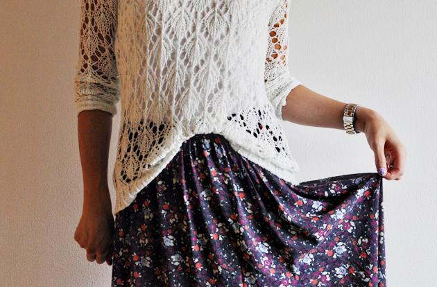 Maxi skirt remake