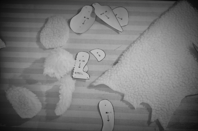 Teddy Bear Making Cutting Out Pieces