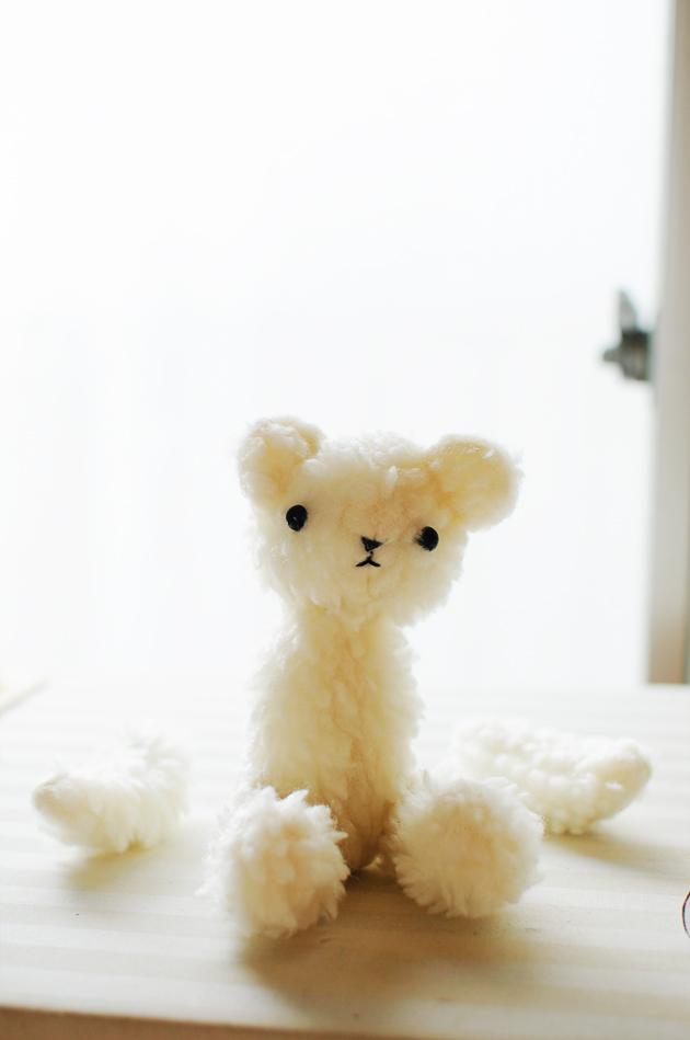 Teddy Bear in Process