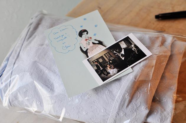 Vivat Veritas Blue Cotton Lace Wedding Dress