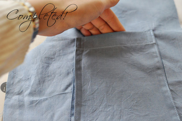 Bellows Pocket Sewing Tutorial via Vivat Veritas Blog