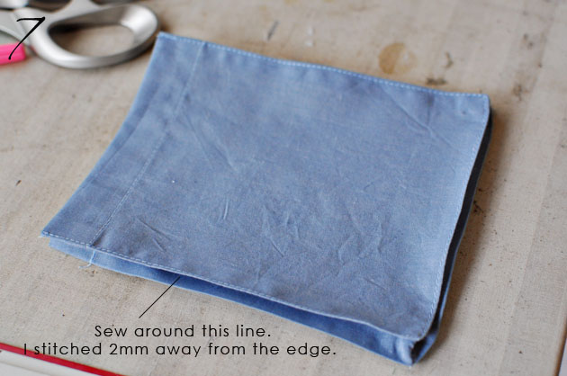 Bellows Pocket Tutorial 7