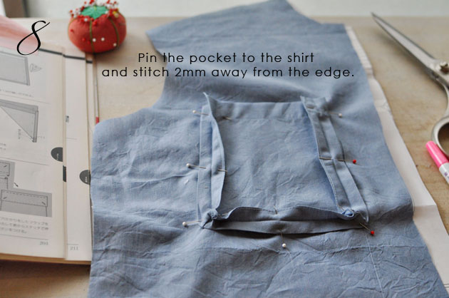 Bellows Pocket Tutorial 8