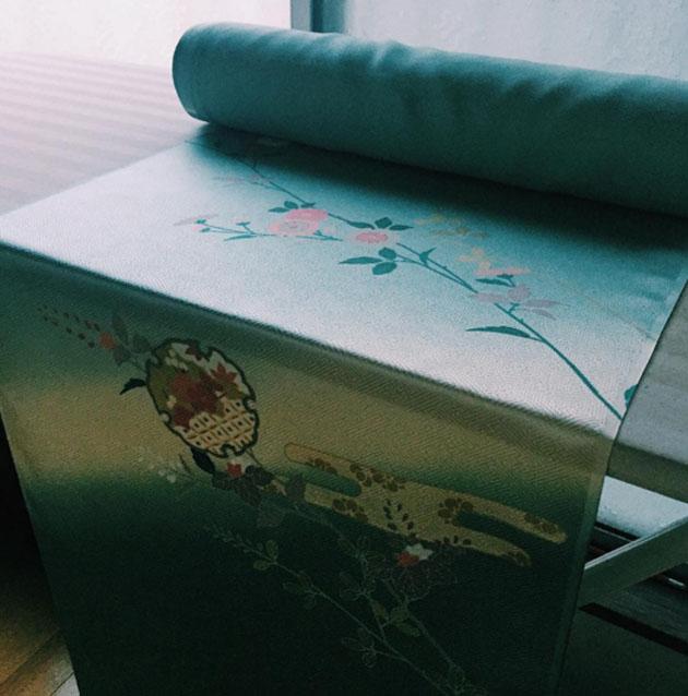 Kimono roll fabric
