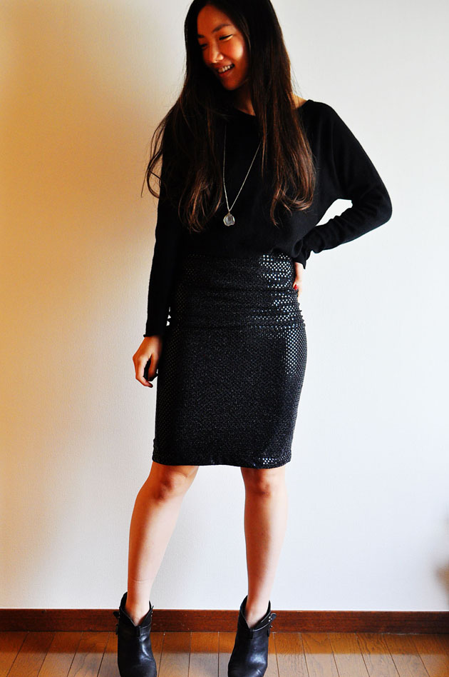 black holiday outfit vivat veritas