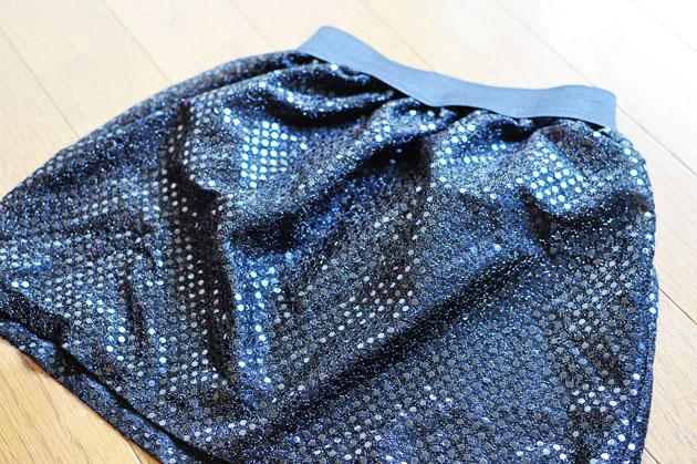 sequin skirt for little girl