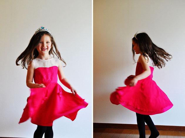Princess aurora dress handmade