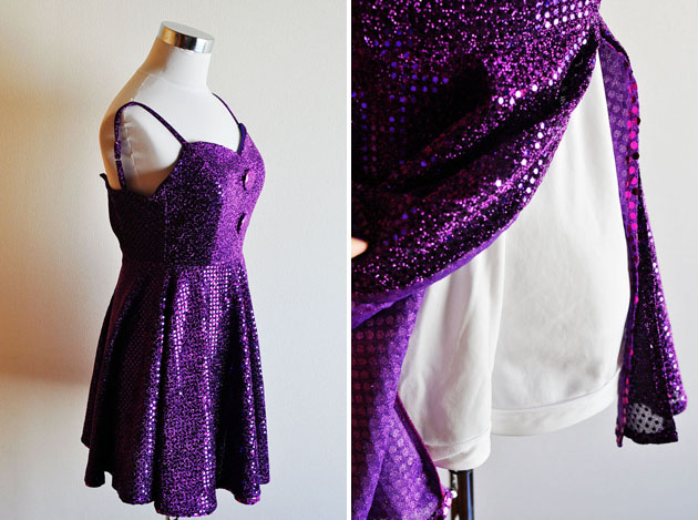 sparkly rompers for j pop singers