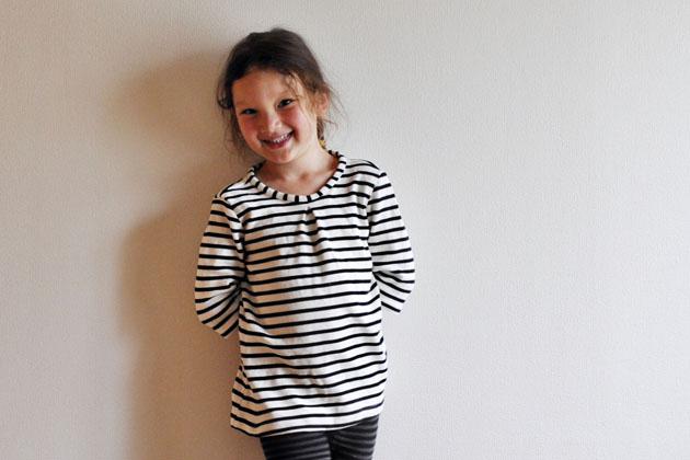 stripes top for a girl via vivat veritas blog