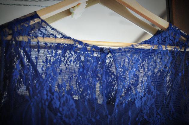 navy blue lace dress with key hole back2