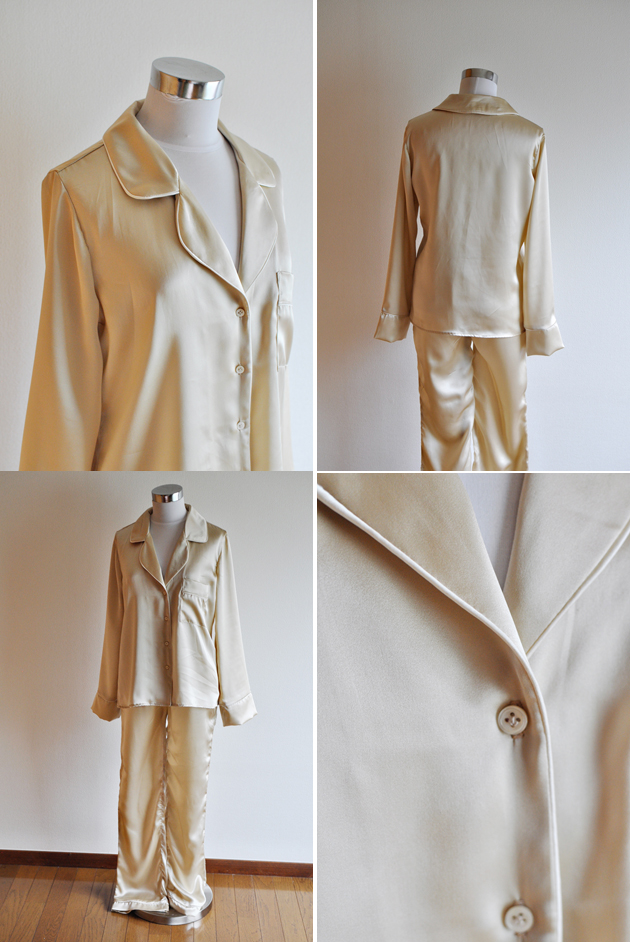 Silk Carolyn Pajama Closet Case Files Close Ups
