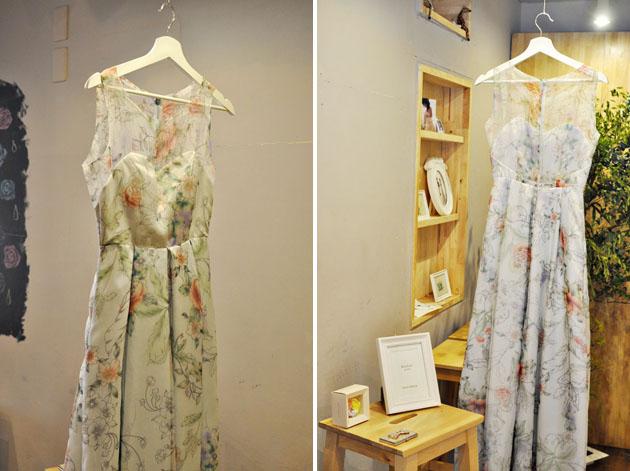blue fairy wedding dress by vivat veritas